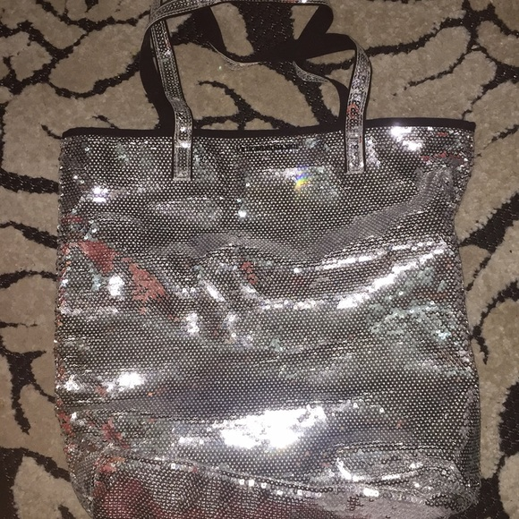 Victoria's Secret Handbags - Victoria's Secret Sequin Tote Bag